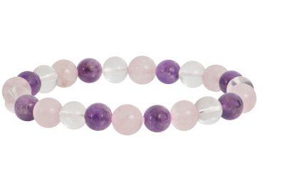 Comment purifier et recharger un bracelet composé de plusieurs pierres différentes ?