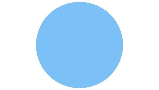 les pierres bleue claire